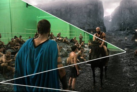 From hero to zero – famous action films with special-effects trickery removed