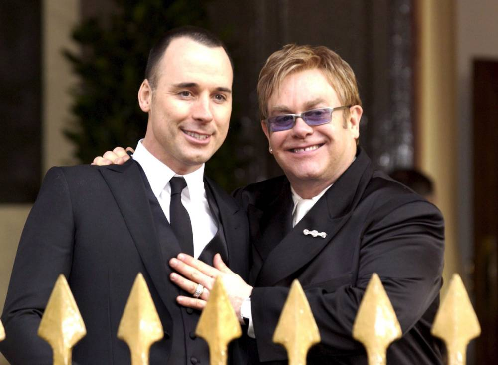 Elton John and David Furnish have been putting flawless pictures of their wedding on Instagram