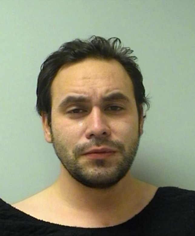 """A Wisconson man has been charged with performing oral sex on a horse - while wearing trousers cut-out at the bottom and groin. Jared Kreft, 30, reportedly confessed to cops that he had been watching bestiality porn before heading to a barn in Wausau. Police say he was """"wearing a face mask, black jacket and blue wind pants with holes cut in the groin and buttocks areas"""" when he performed oral sex on a horse. Deputies also found a blue and red glass pipe and a jar of petroleum jelly. Kreft was ordered held on a $2,000 cash bond on charges of sexual gratification with an animal sex organ, possession of drug paraphernalia, possession of marijuana as a repeat offender and bail jumping. <P> Pictured: Jared Kreft <B>Ref: SPL915755 221214 </B><BR /> Picture by: Marathon County SD/ Splash News<BR /> </P> <P><B>Splash News and Pictures</B><BR /> Los Angeles: 310-821-2666<BR /> New York: 212-619-2666<BR /> London: 870-934-2666<BR /> photodesk@splashnews.com<BR /> </P>"""