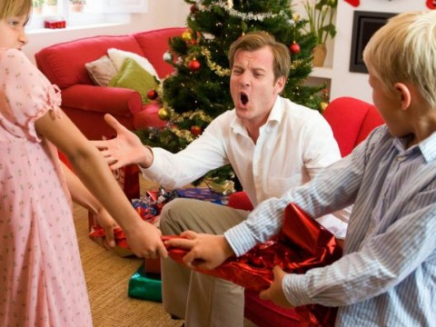 Run for cover: 3:45 pm on Christmas Day is the time 'relative rage' kicks in