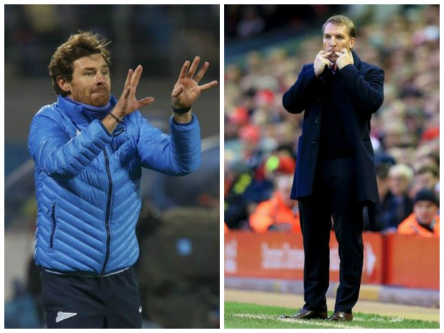 Liverpool line up Andre Villas-Boas as potential replacement for Brendan Rodgers