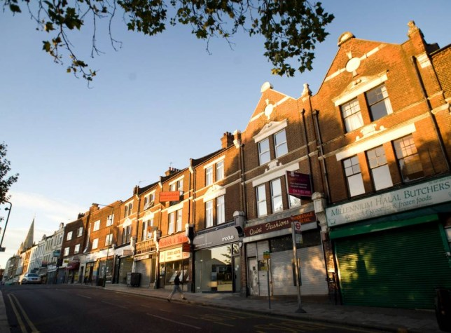 A general view of Chamberlayne Road, London. Chamberlayne Road in Kensal Rise (Photo: Daniel Hambury)