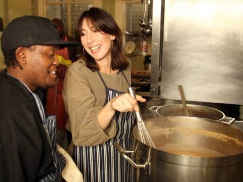 SamCam spends mornings feeding the homeless in central London