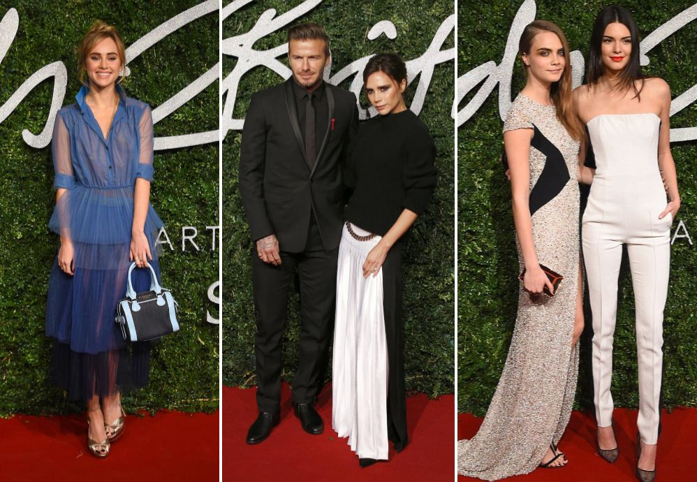 Everyone was totes emosh (and fabulously dressed) at the British Fashion Awards 2014