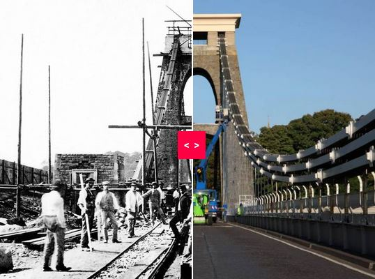 Spanning 150 years – amazing photos of Brunel's Clifton Suspension Bridge