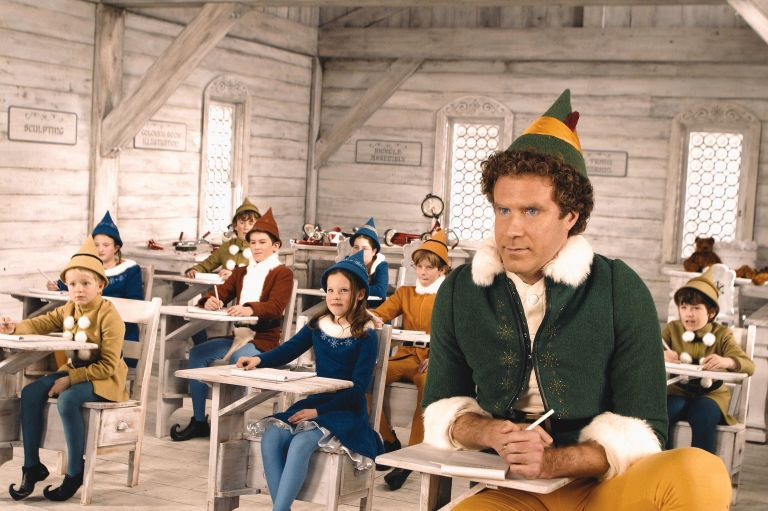 Where can I watch Elf this Christmas and will it be shown on TV?