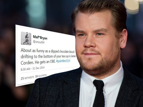 37 people who can't believe James Corden got an OBE