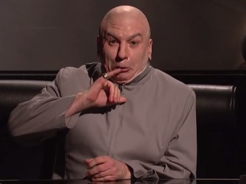 Mike Myers brought back Dr. Evil to poke fun at Sony Pictures and North Korea