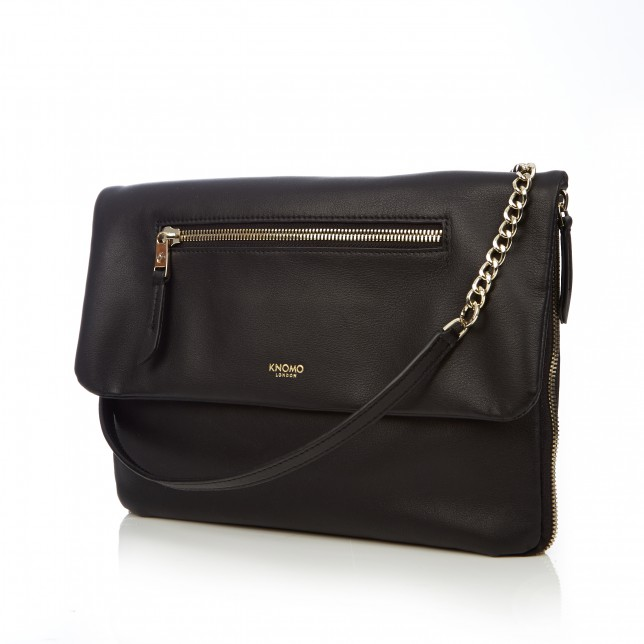 814759b6e06 Knomo's stylish Elektronista clutch bag charges your tech on the go ...