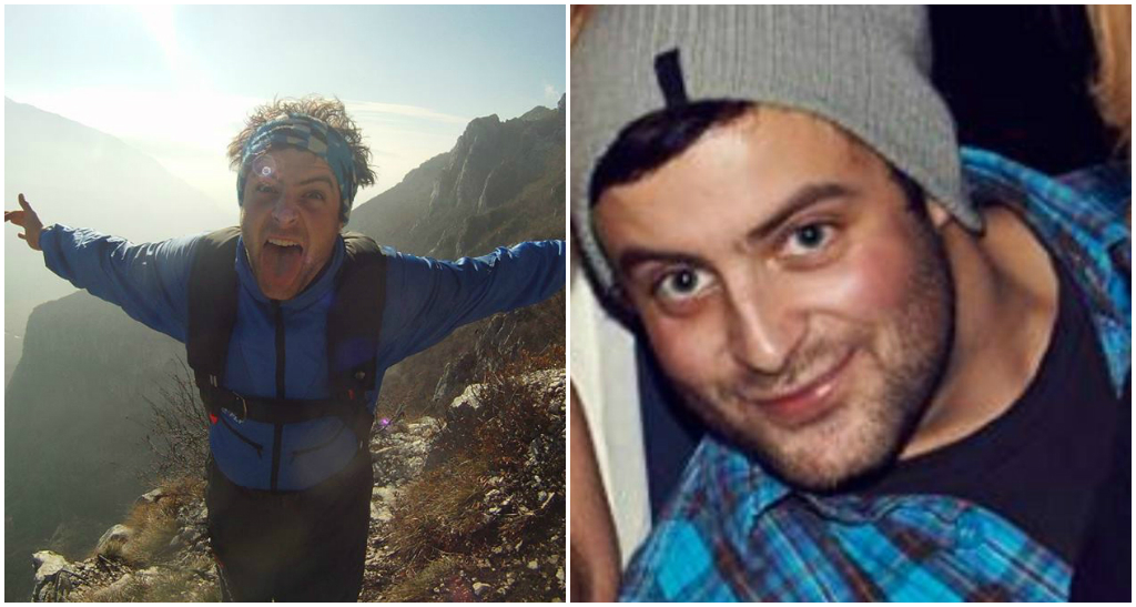 Pictured: British base jumper who died after falling from cliff