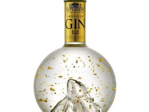 What's better than gin? Gin with gold in it