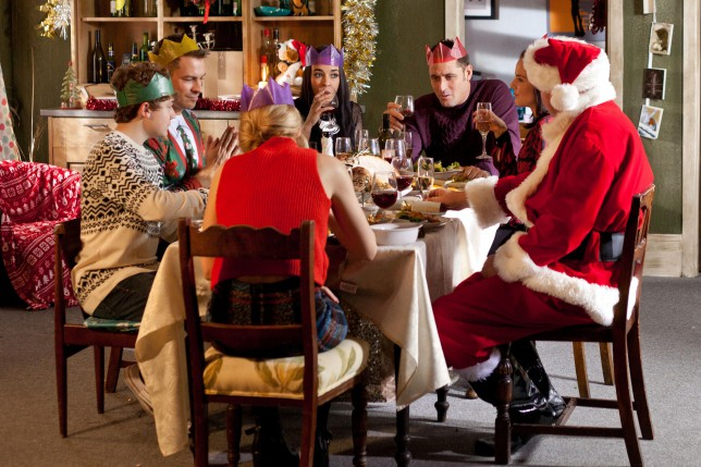 Hollyoaks Christmas 2014
