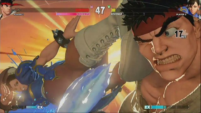 Street Fighter V - that's a K.O.