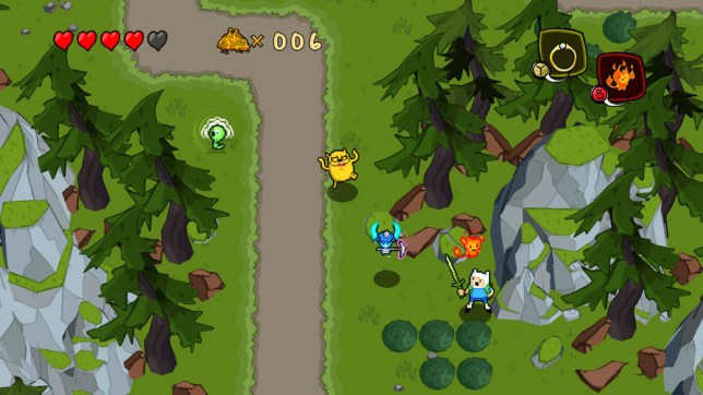 Adventure Time: The Secret of the Nameless Kingdom (360) - it's pretty obvious the name is Hyrule
