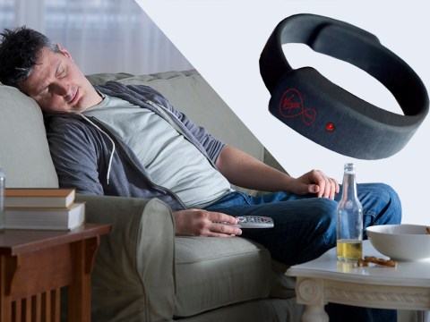 There's a wristband that will record what you're watching on TV if you fall asleep