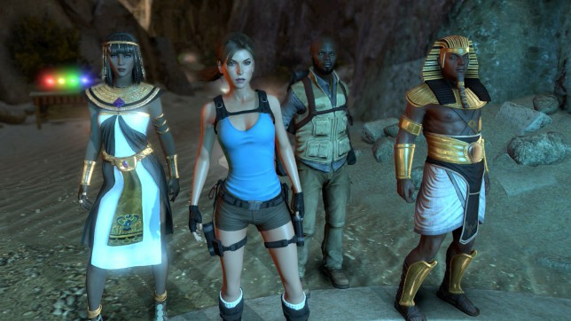 Lara Croft And The Temple Of Osiris (XO) - co-operate like an Egyptian
