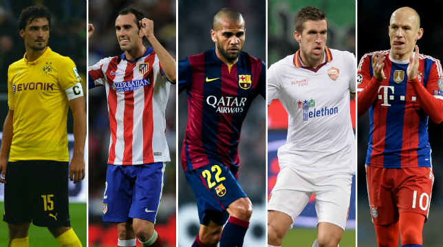 Manchester want Mats Hummels, Diego Godin, Kevin Strootman, Dani Alves and Arjen Robben in £100m transfer raid