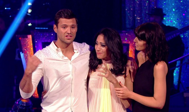 mark wright, karen hauer, karen crying, strictly come dancing, strictly 2014 results