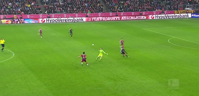 Manuel Neuer up to his old tricks again