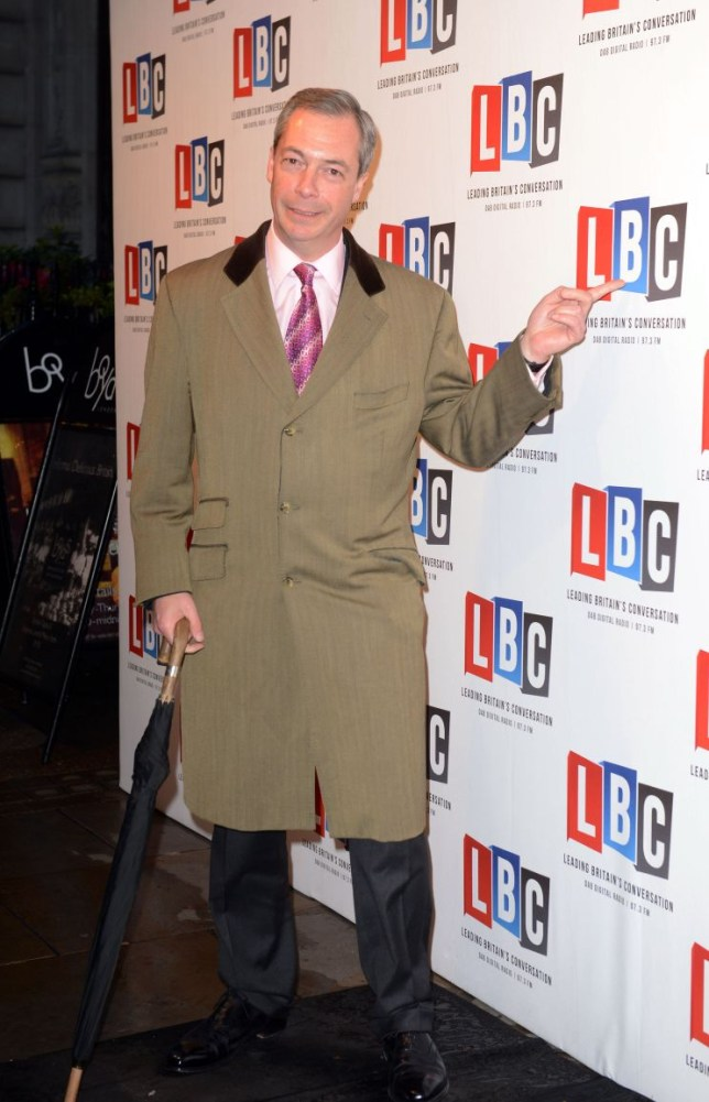 Nick Farage, LBC