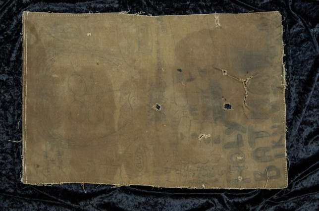 John Lennon's Shroud Of Tourin artwork, which could fetch beyond £80,000 at auction (Picture: CooperOwen )