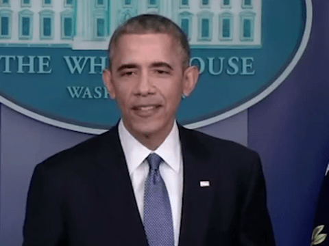 President Obama only answers questions from female journalists at last Press conference of 2014