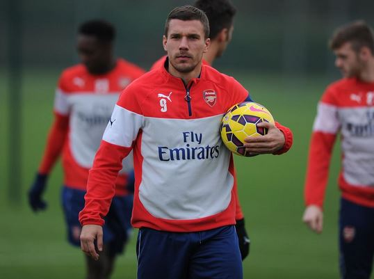 Lukas Podolski 'on verge of securing six-month loan transfer to Inter Milan'