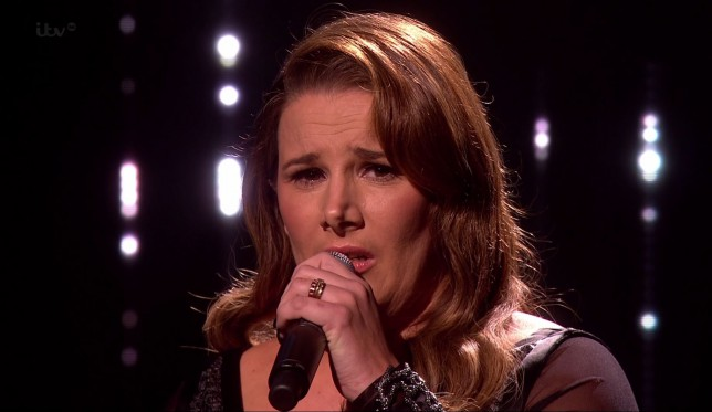 Sam Bailey returns to The X Factor and gets a standing ovation from Simon Cowell
