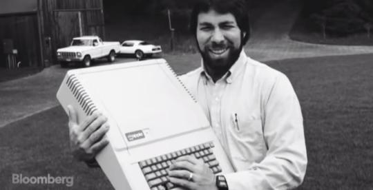 Steve Wozniak hand-built the Apple I himself (Picture: Bloomberg)