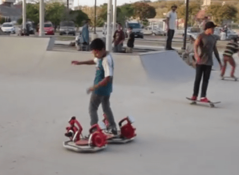 This DIY hoverboard is just what you need to be as cool as Marty McFly