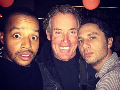 Scrubs reunion: Zach Braff teases picture with Donald Faison and John C. McGinley