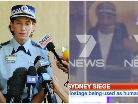 Sydney siege: Hostage-taker with up to 50 people in cafe speaks to police