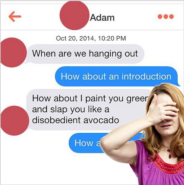 Tinder Nightmares is all the weird and wonderful bits of online dating in one hilarious Instagram account