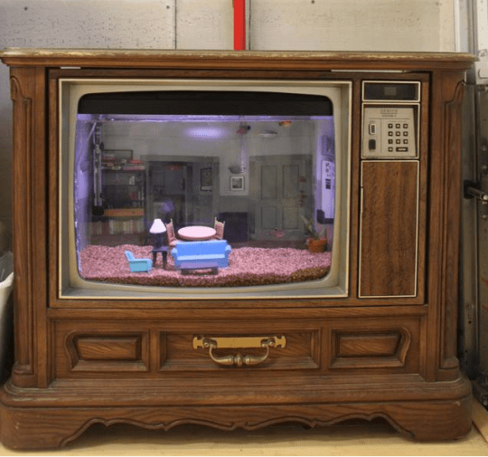 that's right, TVs really did used to look like this (Picture: Awesomeness projects)