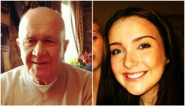 Jack Sweeney and his granddaughter Erin McQuade were killed in the disaster