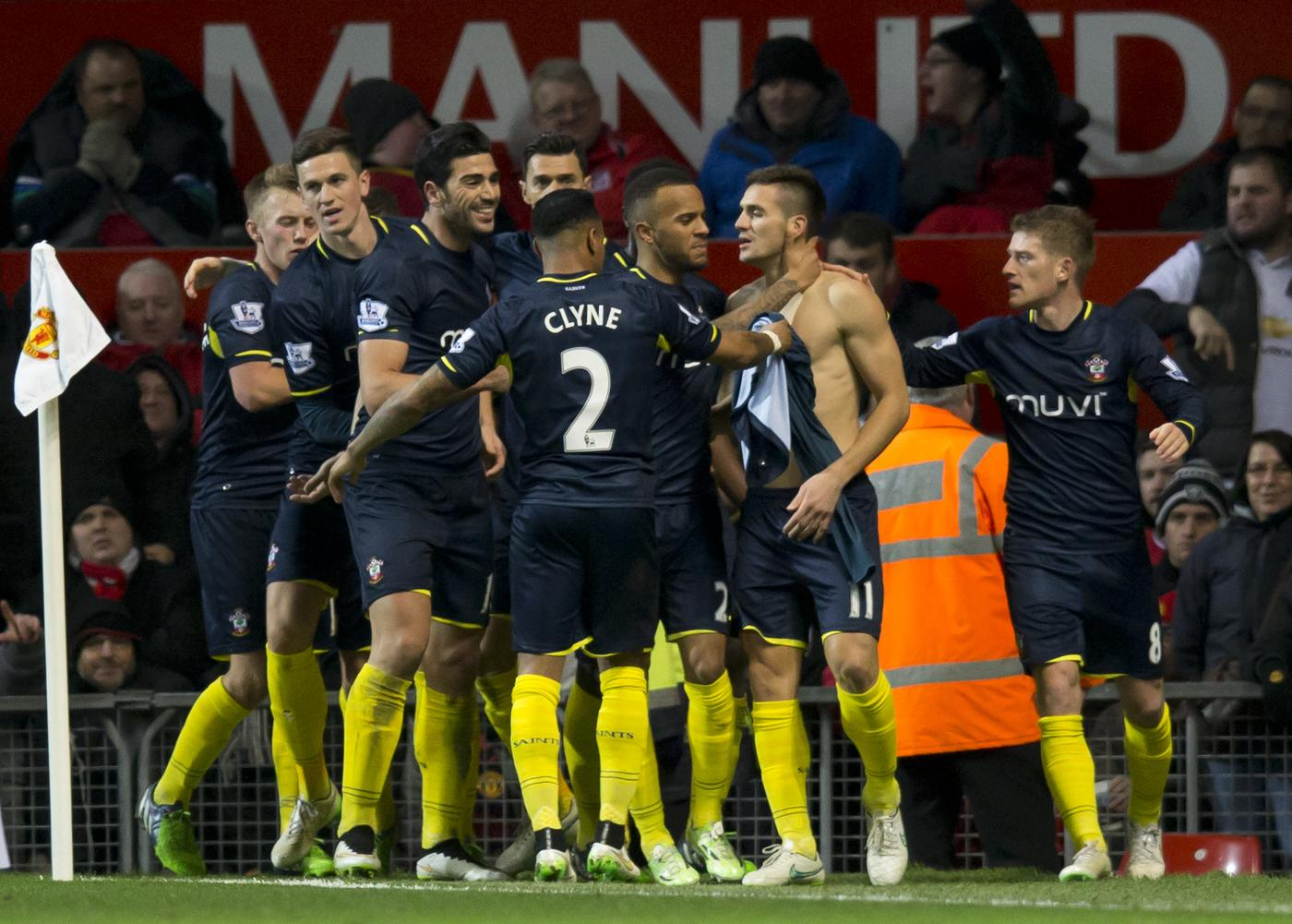 Man for man Southampton are simply better than Manchester United