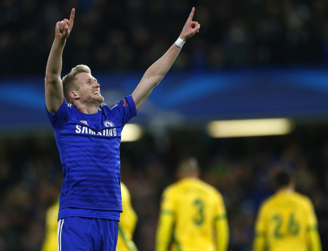 Andre Schurrle is set to leave Chelsea in January