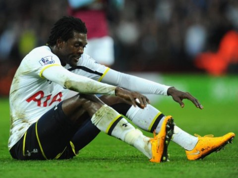 Emmanuel Adebayor transfer to Parma 'set to collapse over Tottenham striker's wage demands'