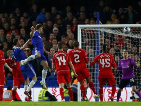 Chelsea go seven straight games without losing to Liverpool for FIRST time in their 110-year history after Branislav Ivanovic goal