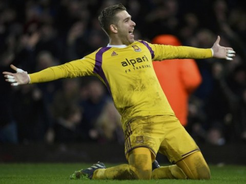 West Ham's Adrian becomes subject of memes after scoring winning penalty in FA Cup victory v Everton