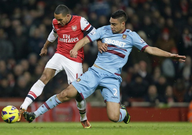 West Ham defender Winston Reid looking 'increasingly unlikely to make Arsenal transfer in January'