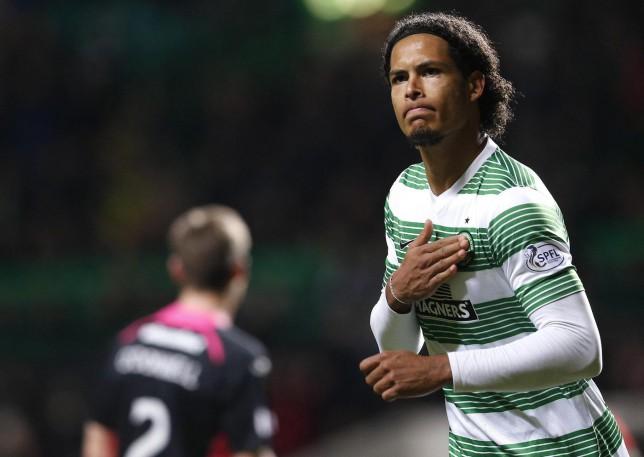 Celtic defender Virgil Van Dijk set to join Southampton for £11.5m – report