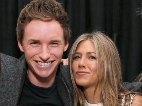 Oscar nominee Eddie Redmayne admits to 'stalking' Jennifer Aniston