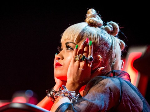The Voice 2015: It's Rita Ora dinosaura as the newest judge's prehistoric hairstyle gets viewers in a spin