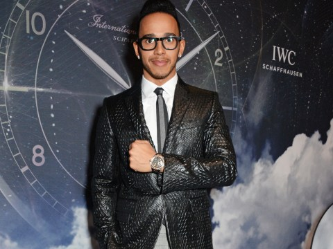 What a car crash: Lewis Hamilton's new fashion look mocked by fans
