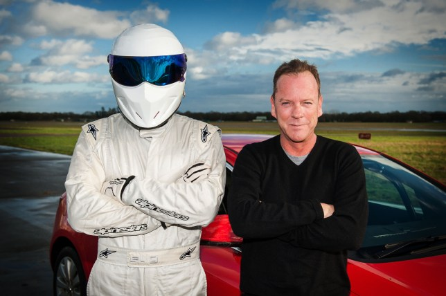 Top Gear Kiefer Sutherland