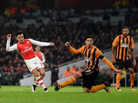 Alexis Sanchez offered rest for Arsenal FA Cup clash, he refused and scored this peach