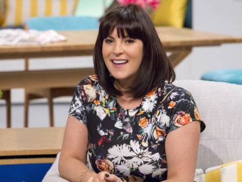 Anna Richardson launches 'paper kiss' campaign for girlfriend Sue Perkins after Twitter death threats