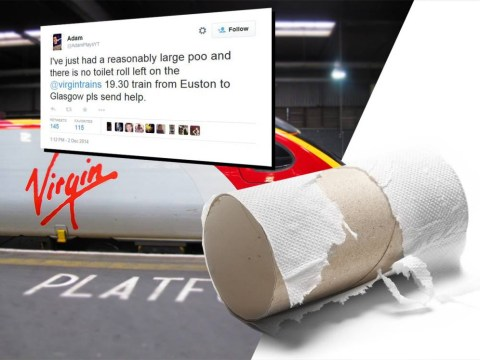Twitter saves man having poo on Virgin Trains who ran out of loo roll