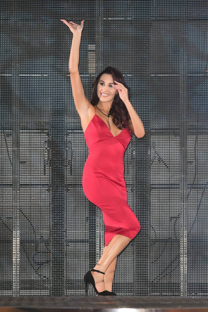 Chloe Goodman entering the Celebrity Big Brother house at the start of the latest series of the Channel 5 programme at Elstree Studios, Borehamwood. PRESS ASSOCIATION Photo. Picture date: Wednesday January 7, 2015. Photo credit should read: Ian West/PA Wire